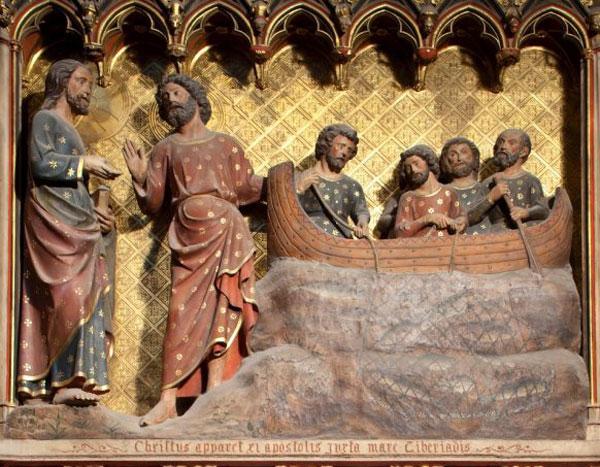 "Apparition "" nostalgique "" de Jésus ressuscité au lac de Tibériade"