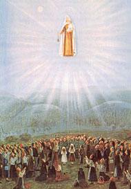 La vision de Notre-Dame du Mont-Carmel