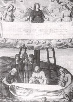 Tableau représentant le Saint Suaire