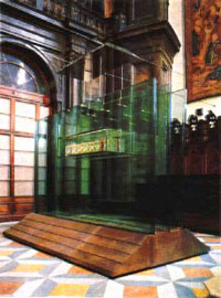 Reliquary of the Holy Shroud