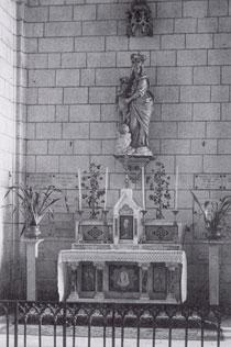 Autel - Notre-Dame de l'Île-Bouchard