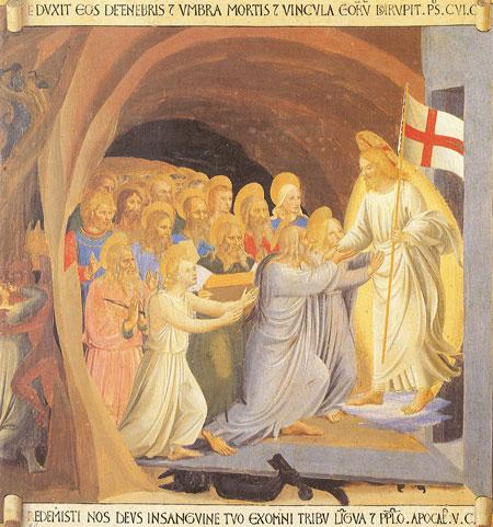 Jésus aux enfers (Fra Angélico)