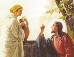 jésus rencontre la samaritaine
