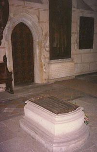 Tombe de Luther à Wittenberg
